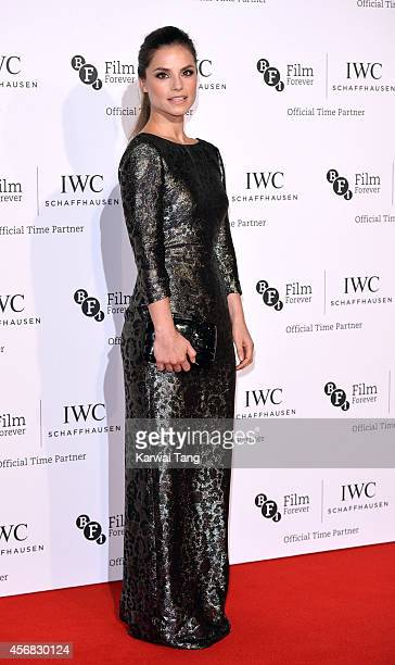 Charlotte Riley attends the IWC Gala dinner in honour of the BFI at Battersea Evolution on October 7 2014 in London England