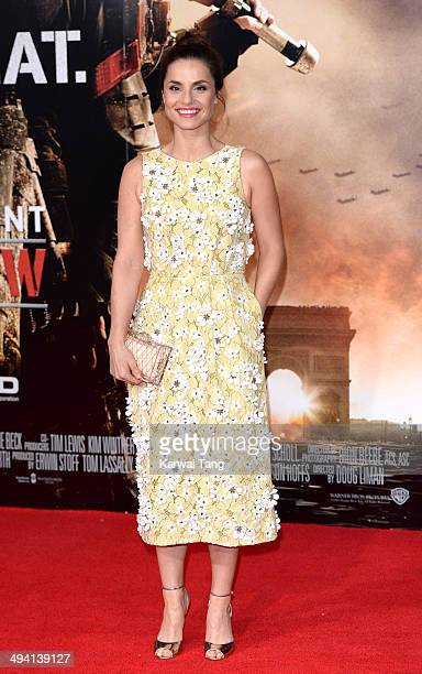 Charlotte Riley attends the premiere of 'Edge Of Tomorrow' held at the BFI IMAX on May 28 2014 in London United Kingdom