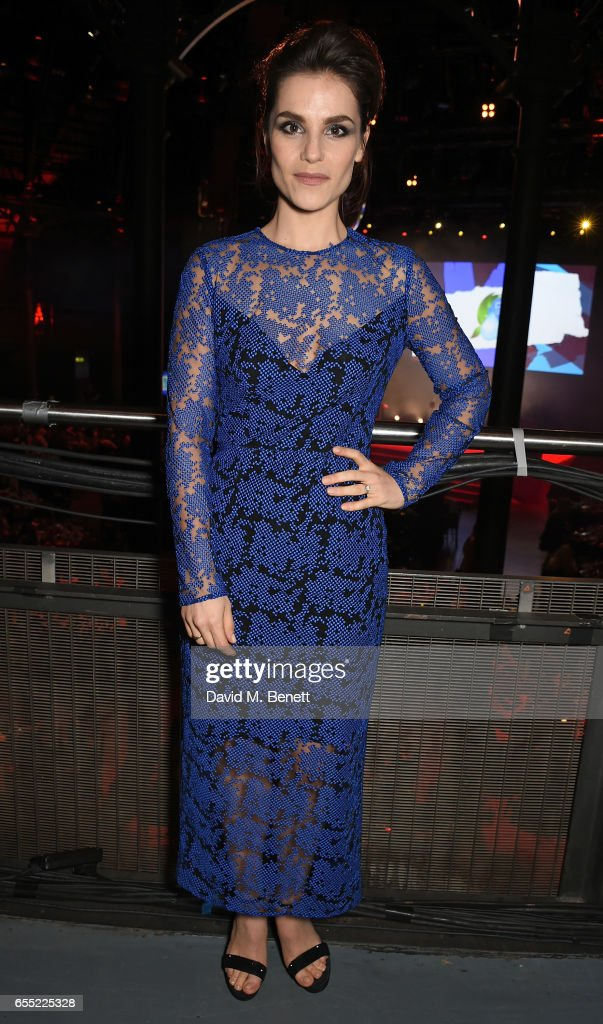 Charlotte Riley attends the THREE Empire awards at The Roundhouse on March 19, 2017 in London, England.