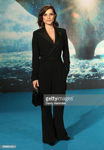 Charlotte Riley attends the UK Film Premiere of 'In the Heart of the Sea' at Empire Leicester Square on December 2 2015 in London England