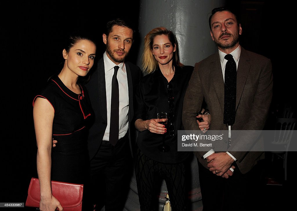 Charlotte Riley, Tom Hardy, Sienna Guillory and attends an after party following the Moet British Independent Film Awards 2013 at Old Billingsgate Market on December 8, 2013 in London, England.