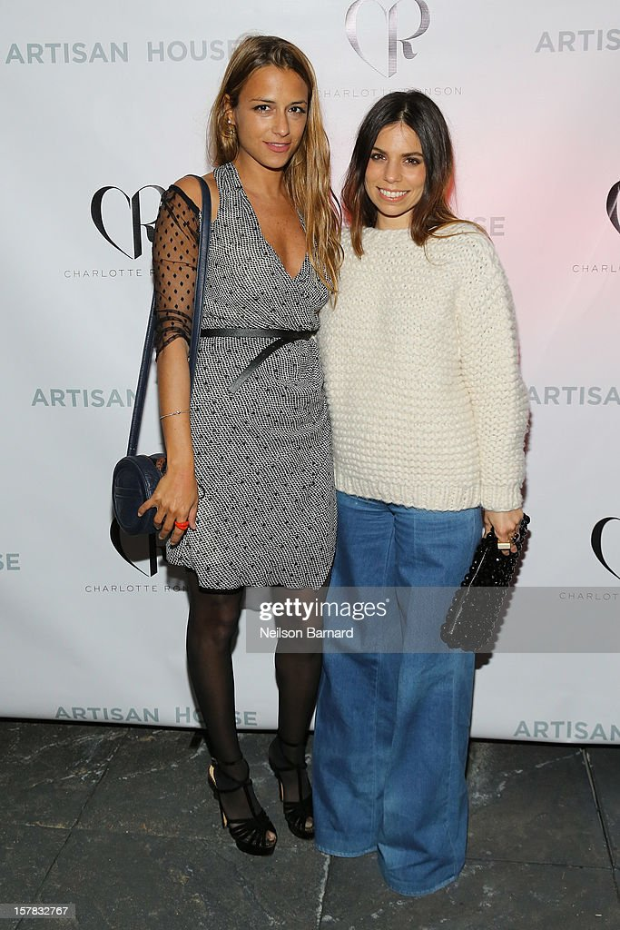 Charlotte Ronson and Ally Hilfiger attend the Charlotte Ronson + Artisan House Host Spring/Summer 2013 Handbag Preview on December 6, 2012 in New York City.