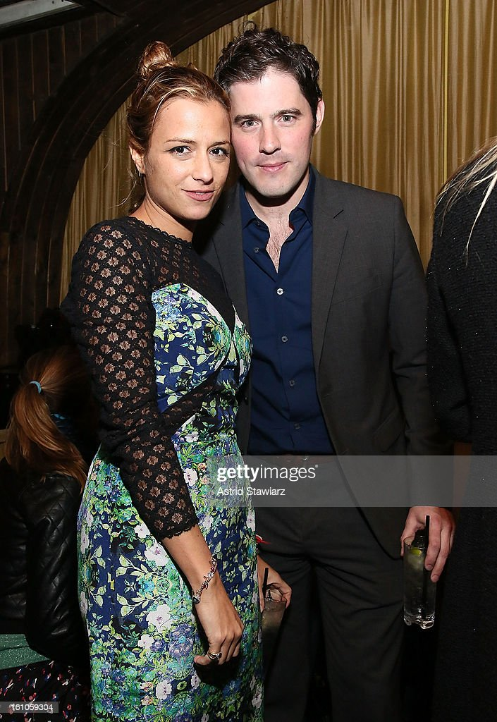 Charlotte Ronson and Kyle McEneaney attend the Charlotte Ronson Fall/Winter 2013 - After Party at 1 Oak on February 8, 2013 in New York City.