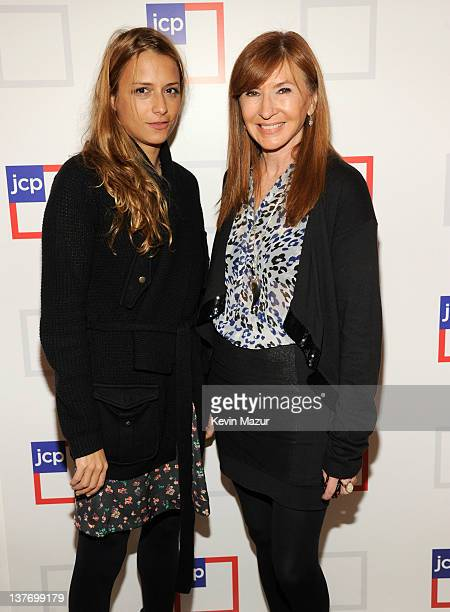 Charlotte Ronson and Nicolle Miller attend the jcpenney launch event at Pier 57 on January 25 2012 in New York City