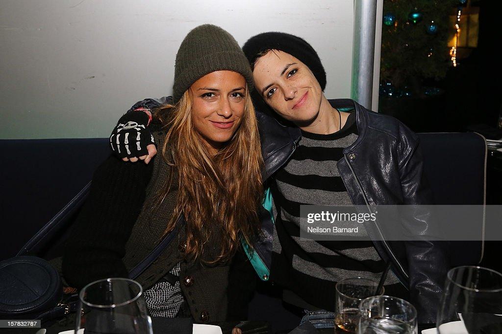 Charlotte Ronson and Samantha Ronson attend the Charlotte Ronson + Artisan House Host Spring/Summer 2013 Handbag Preview on December 6, 2012 in New York City.