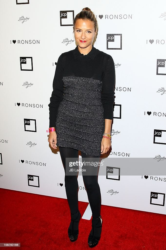 Charlotte Ronson attends the Charlotte Ronson And Jcpenney I Heart Ronson Celebration With Music By Samantha Ronson at The Bungalow on December 11, 2012 in Santa Monica, California.