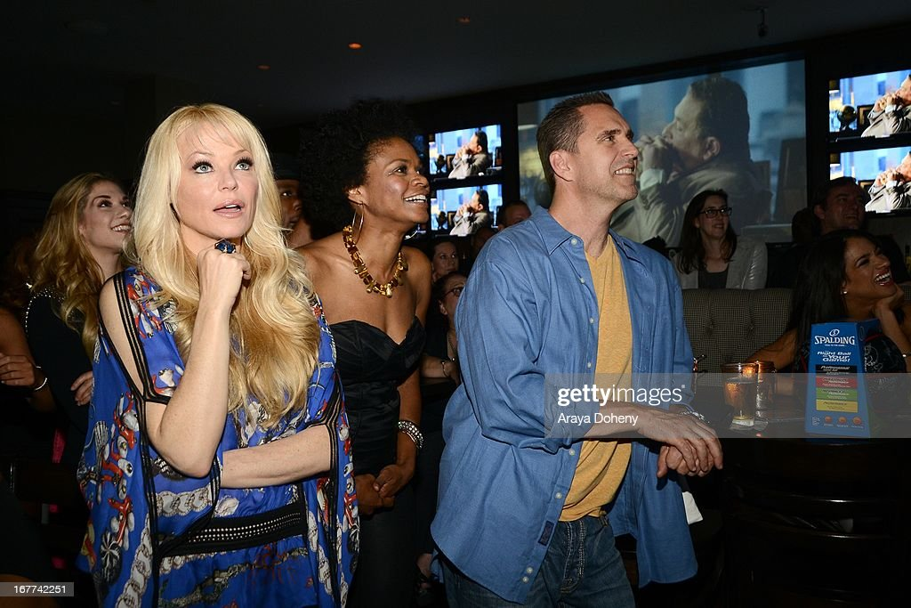 <a gi-track='captionPersonalityLinkClicked' href=/galleries/search?phrase=Charlotte+Ross+-+Actress&family=editorial&specificpeople=217600 ng-click='$event.stopPropagation()'>Charlotte Ross</a> and <a gi-track='captionPersonalityLinkClicked' href=/galleries/search?phrase=Kimberly+Elise&family=editorial&specificpeople=211117 ng-click='$event.stopPropagation()'>Kimberly Elise</a> attend VH1's 'Hit the Floor' Wrap Party on April 28, 2013 in Los Angeles, California.