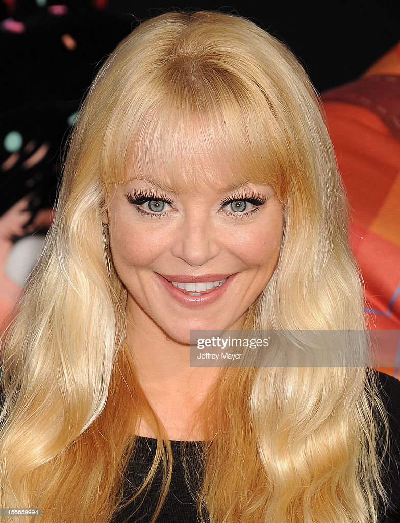 Charlotte Ross arrives at the Los Angeles premiere of 'Wreck-It Ralph' at the El Capitan Theatre on October 29, 2012 in Hollywood, California.