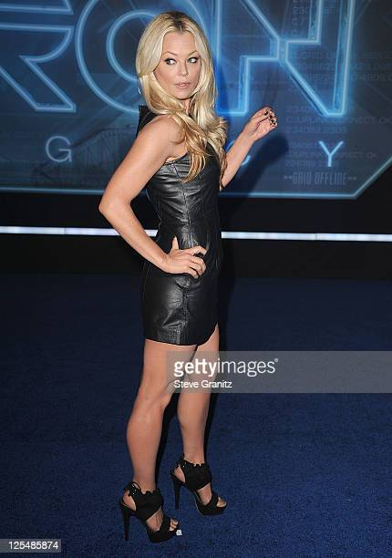 Charlotte Ross arrives at the premiere of 'TRON Legacy' at the El Capitan Theatre on December 11 2010 in Hollywood California