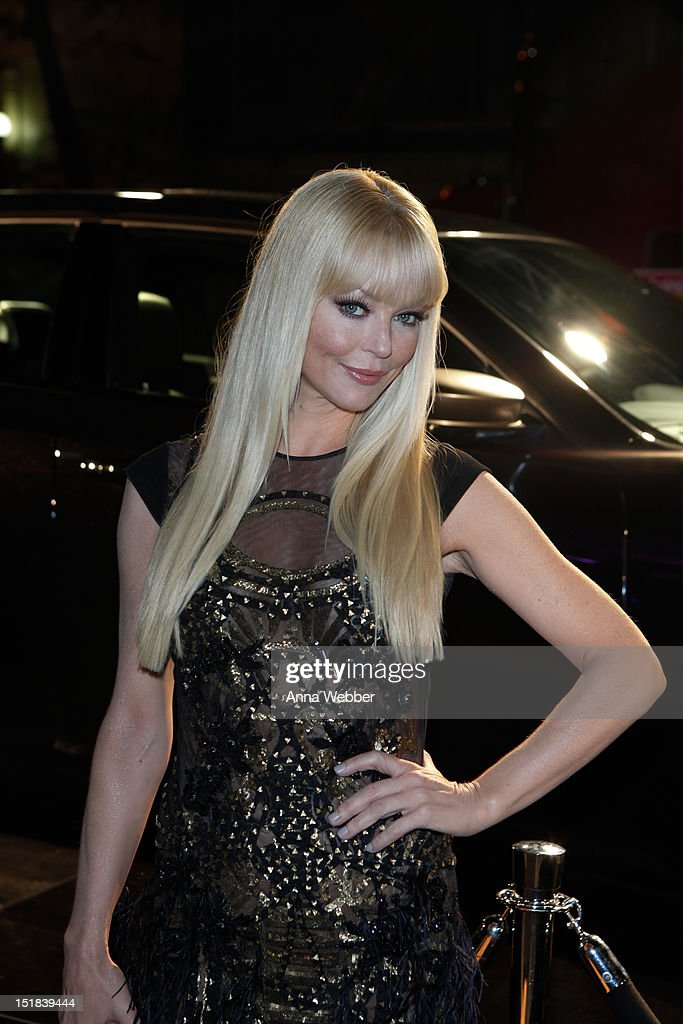 Charlotte Ross arrives to GQ, Chrysler, And John Varvatos Celebrate The Launch Of The 2013 Chrysler 300C on September 11, 2012 in New York City.
