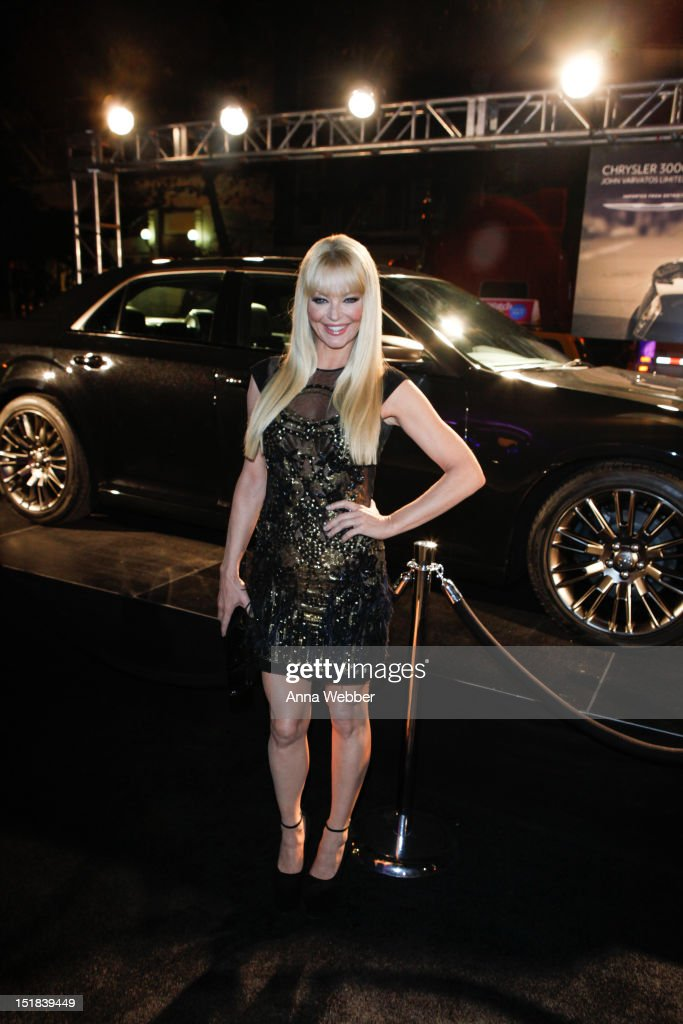 <a gi-track='captionPersonalityLinkClicked' href=/galleries/search?phrase=Charlotte+Ross+-+Actress&family=editorial&specificpeople=217600 ng-click='$event.stopPropagation()'>Charlotte Ross</a> arrives to GQ, Chrysler, And John Varvatos Celebrate The Launch Of The 2013 Chrysler 300C on September 11, 2012 in New York City.