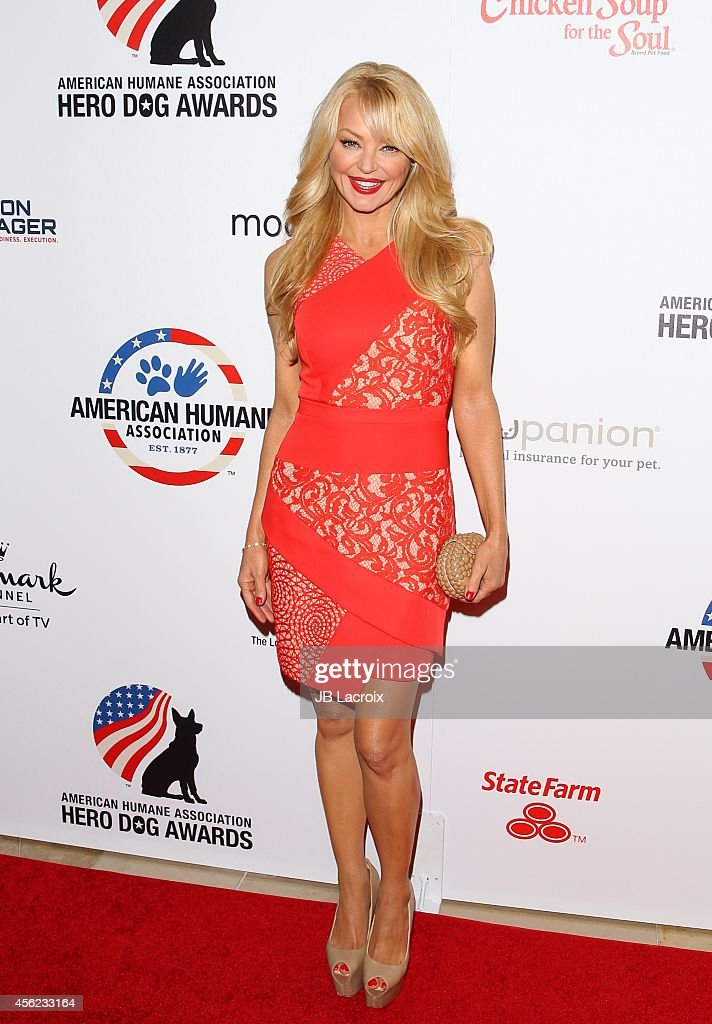Charlotte Ross attends the 4th Annual American Humane Association Hero Dog Awards hosted by Beth Stern on September 26 in Beverly Hills California