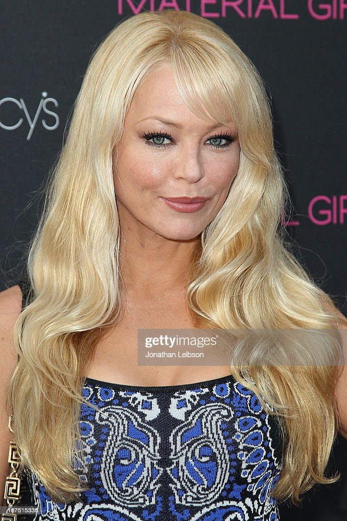 Charlotte Ross attends the Madonna's Fashion Evolution Pop-Up Exhibition In Conjunction With The Pop Star's 'Material Girl' Clothing Line At Macy's at Macy's Westfield Century City on April 25, 2013 in Century City, California.