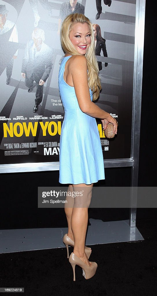Charlotte Ross attends the 'Now You See Me' premiere at AMC Lincoln Square Theater on May 21, 2013 in New York City.