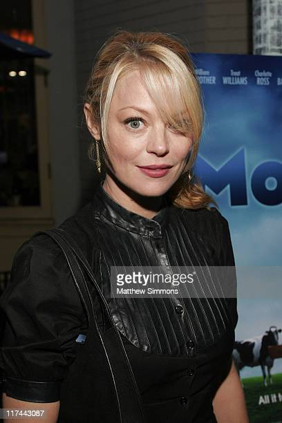 Charlotte Ross during 2007 Newport Beach Film Festival 'Moola' Premiere at Lido Regency Theatre in Newport Beach California United States