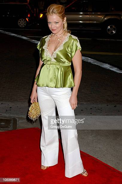 Charlotte Ross during 'A Love Song for Bobby Long' Los Angeles Premiere Arrivals at Mann Bruin Theatre in Westwood California United States