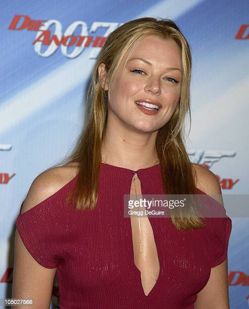Charlotte Ross during 'Die Another Day' Los Angeles Premiere at Shrine Auditorium in Los Angeles California United States