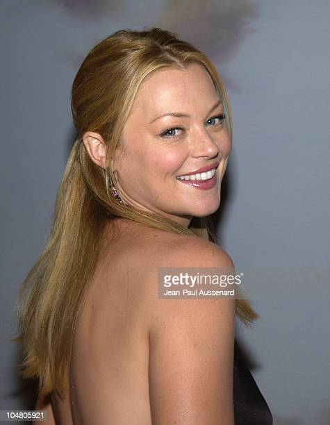 Charlotte Ross during Farm Sanctuary Gala 2002 'Emmys For Animals' at Beverly Hills Hotel in Beverly Hills California United States