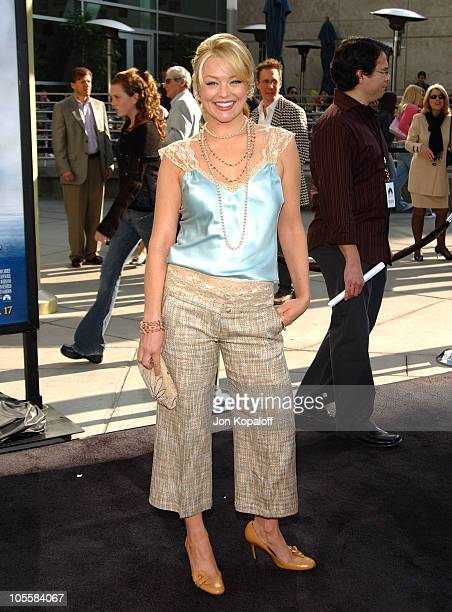 Charlotte Ross during 'Lemony Snicket's A Series Of Unfortunate Events' World Premiere Arrivals at Grauman's Chinese Theater in Hollywood California...