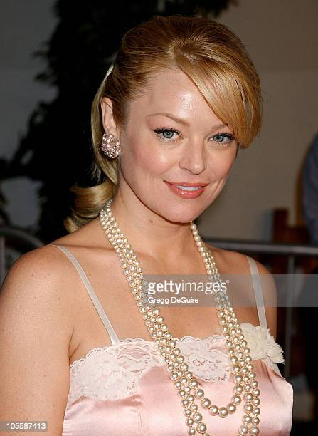 Charlotte Ross during 'Meet The Fockers' Los Angeles Premiere Arrivals at Universal Amphitheatre in Universal City California United States