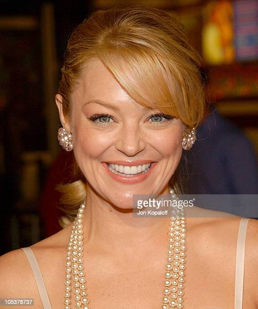 Charlotte Ross during 'Meet the Fockers' Los Angeles Premiere at Universal Amphitheatre in Universal City California United States