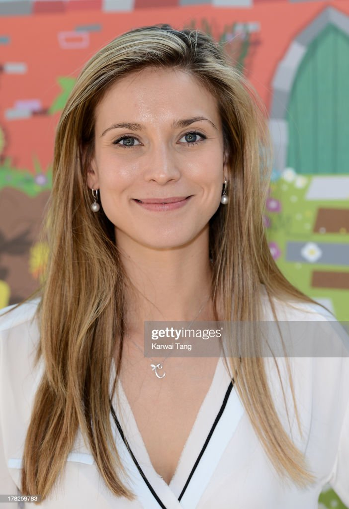 Charlotte Salt attends the Launch of a New Childrens App 'Henri Le Worm' held at Brasserie Blanc on August 28, 2013 in London, England.