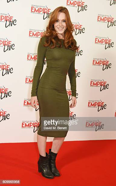 Charlotte Spencer attends the Empire Live 'Swiss Army Man' 'Imperium' double bill gala screening at Cineworld 02 Arena on September 23 2016 in London...