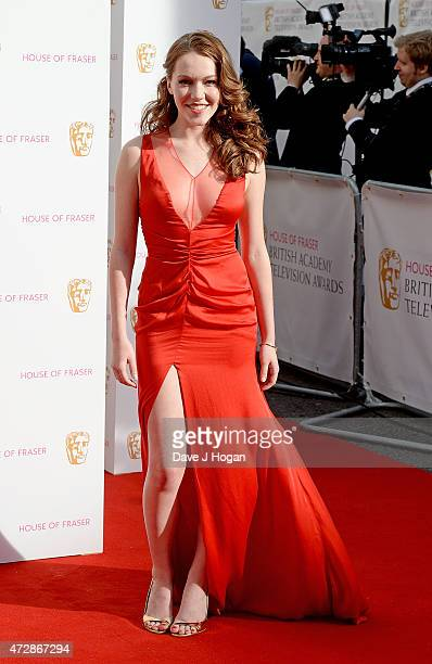 Charlotte Spencer attends the House of Fraser British Academy Television Awards at Theatre Royal on May 10 2015 in London England