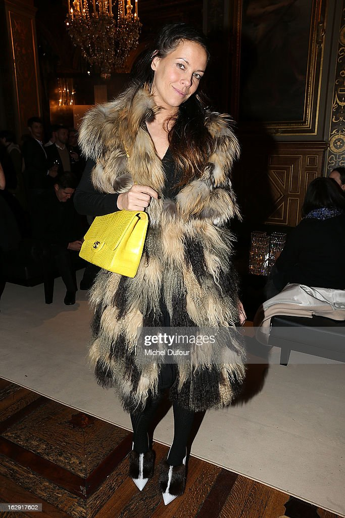 Charlotte Stockdale attends Swarovski 'Paris Haute Couture' Exhibition as part of Paris Fashion Week on February 28, 2013 in Paris, France.