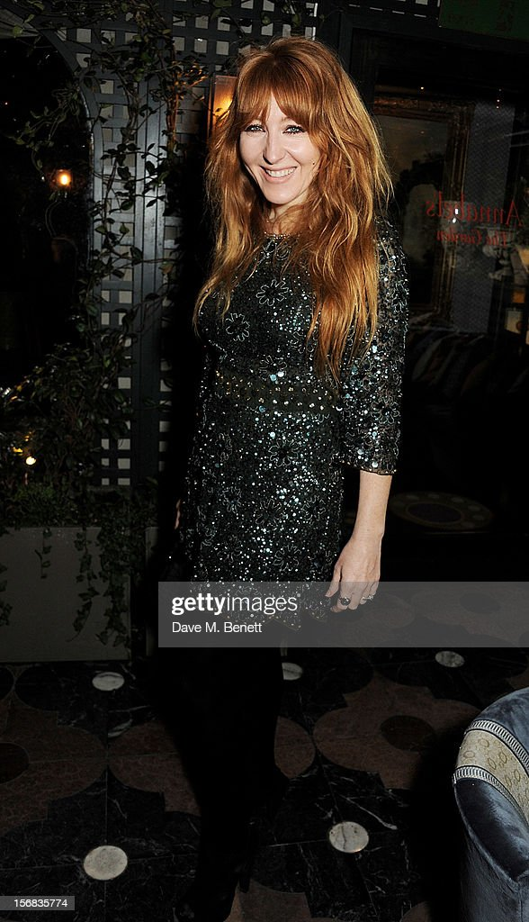 Charlotte Tilbury attends the launch of Bryan Ferry's new album 'The Jazz Age' at Annabels on November 22, 2012 in London, England.