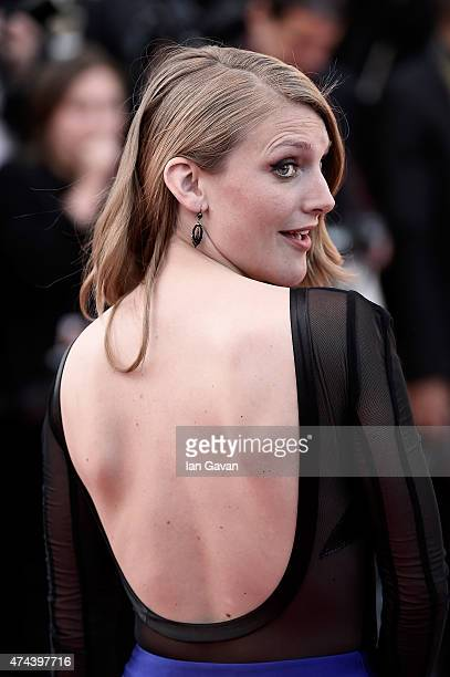 Charlotte Vandermeersch attends the 'Little Prince' Premiere during the 68th annual Cannes Film Festival on May 22 2015 in Cannes France