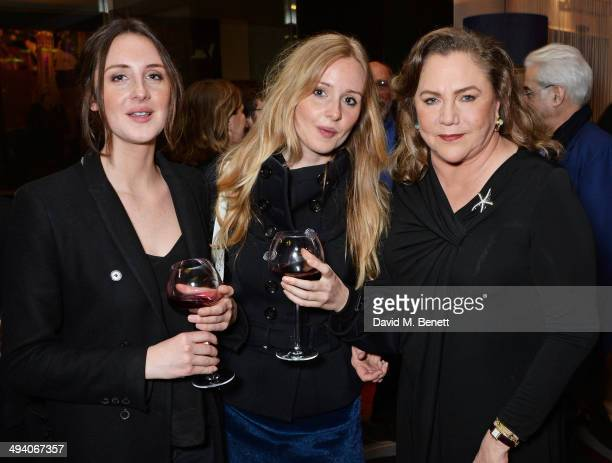 Charlotte Vickers Diana Vickers and cast member Kathleen Turner attend an after party following the press night performance of 'Bakersfield Mist' at...