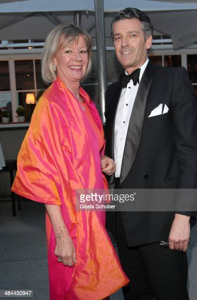 Charlotte von Bismarck Schoenhausen and Michael Berger Sandhofer attend the opening of the easter festival 2014 on April 12 2014 in Salzburg Austria