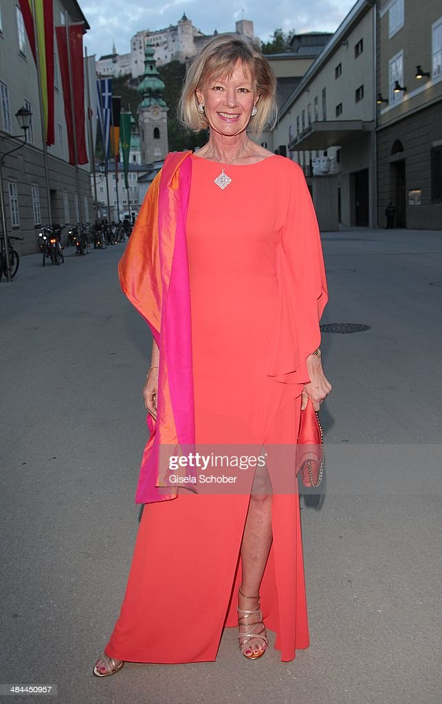 Charlotte von Bismarck Schoenhausen attends the opening of the easter festival 2014 on April 12 2014 in Salzburg Austria