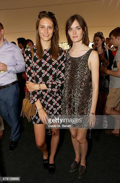 Charlotte Wiggins and Sam Rollinson attend as Eco World Ballymore welcomes English National Ballet to its new home on London City Island on July 1...