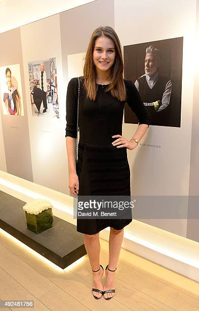 Charlotte Wiggins attends the Deconstructed Project with a private dinner hosted by Caroline Issa David Shrigley and Massimo Nicosia on October 13...