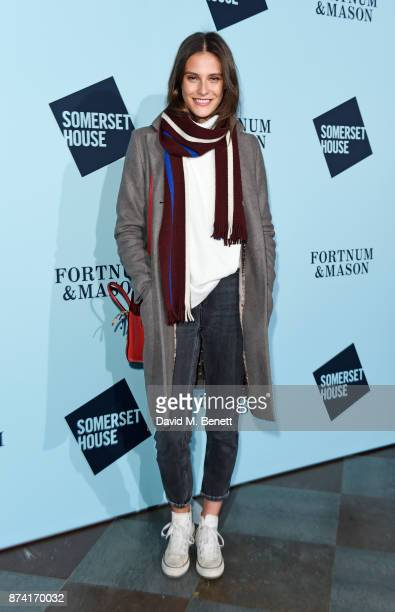 Charlotte Wiggins attends the opening party of Skate at Somerset House with Fortnum Mason on November 14 2017 in London England London's favourite...