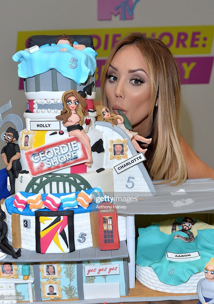 Charlotte-Letitia Crosby of Geordie Shore celebrate their fifth birthday at MTV London on May 24, 2016 in London, England.