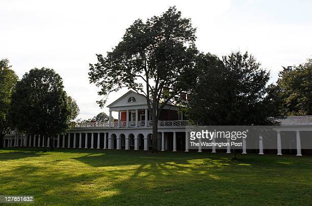 The historic lawn at the University of Virginia This year school officials stopped the use of having fires in the rooms that line the lawn due to...