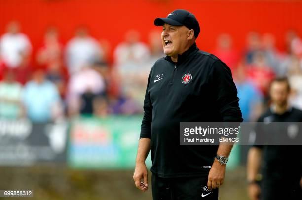 Charlton Athletic managaer Russell Slade