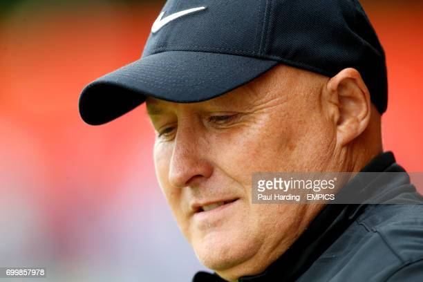 Charlton Athletic manager Russell Slade before the game
