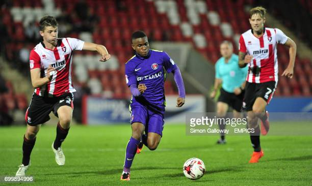 Charlton Athletic's Ademola Lookman in action
