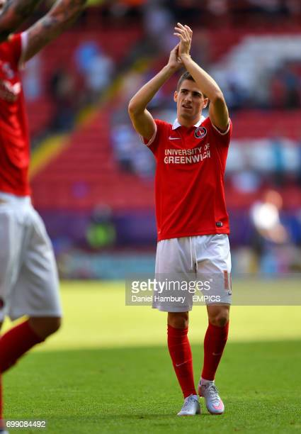 Charlton Athletic's Cristian Ceballos after the game