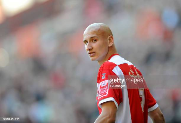 Charlton Athletic's Jonjo Shelvey during the CocaCola Championship match at The Valley London