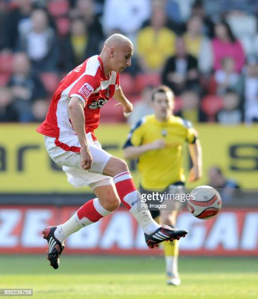 Charlton Athletic's Jonjo Shelvey in action during the CocaCola Championship match at The Valley London