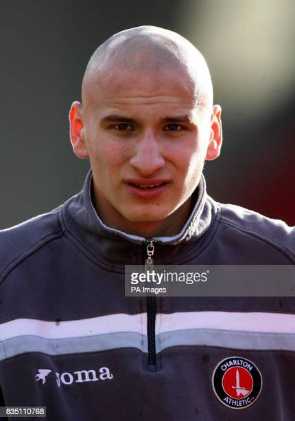 Charlton Athletic's Jonjo Shelvey prior to kick off during the CocaCola Championship match at Oakwell Barnsley
