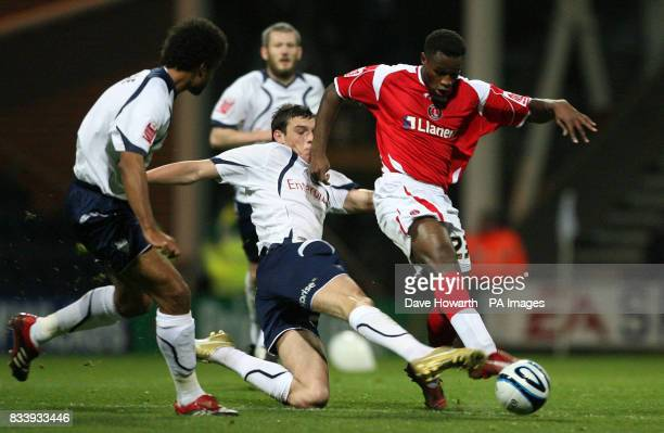 Charlton Athletic's Jose Semedo in action during the CocaCola Football League Championship match at Deepdale Preston