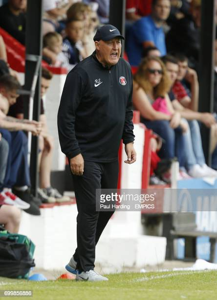 Charlton Athletic's manager Russell Slade
