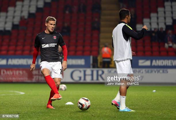 Charlton Athletic's Mark Gower during the warm up
