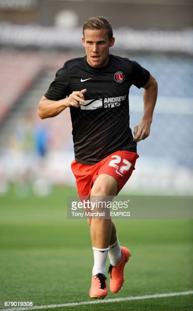 Charlton Athletic's Mark Gower during training